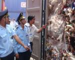 Chuyển hơn 500 container phế liệu không đủ tiêu chuẩn ra khỏi Việt Nam