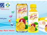 Nước giải khát Tasty Chanh Leo – Thạch Bích 'vừa ngon, vừa khỏe'