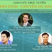 Trực tuyến: 'Ngày hội STEM TPHCM – Chuyến du hành vũ trụ'