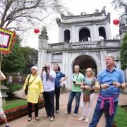 Khách quốc tế đến Hà Nội dịp Tết tăng hơn 60%