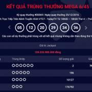 2 vé trúng giải Jackpot gần 160 tỷ đồng ở Quảng Ninh và TPHCM