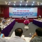Chuyên gia đề nghị tạm dừng dự án thủy điện Pak Beng