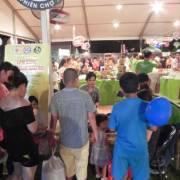 Hội chợ HVNCLC Bình Định 2017: Bánh dân gian Nam Bộ của nghệ sĩ Xuân Hương 'đắt khách'