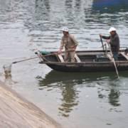 Chưa xác định được chất thải đen đổ ra vịnh Hạ Long là gì?