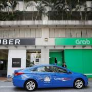 Singapore điều tra thỏa thuận chuyển nhượng giữa Uber và Grab