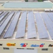 Thiên Long vận hành hệ thống pin năng lượng mặt trời để sản xuất sạch