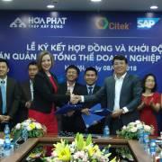 Khu liên hợp gang thép Hòa Phát Dung Quất đầu tư giải pháp SAP S/4HANA
