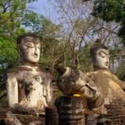 Ngày xuân vắng yên miền quên lãng Kamphaeng Phet