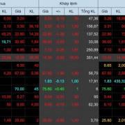 Chứng khoán đỏ lửa, VN-Index 'bay' hơn 30 điểm