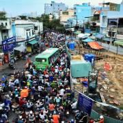 Đề xuất xây 34 trạm thu phí ôtô vào trung tâm Sài Gòn