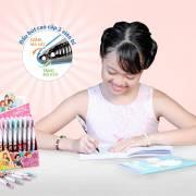 Thiên Long tưng bừng khuyến mãi sản phẩm bút gel Disney