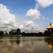 Rực rỡ sắc lạ thành phố mưa bay Kuching