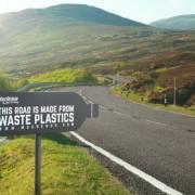 Con đường đầu tiên của Việt Nam được làm từ nhựa tái chế