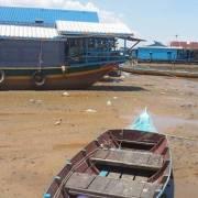 Nước sông Mekong thấp kỷ lục trong 100 năm qua