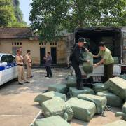 Chặn gần 5 tấn nầm lợn bốc mùi từ Trung Quốc tuồn vào Việt Nam tiêu thụ