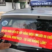 Bộ Giao thông Vận tải lại muốn 'gắn mào' cho taxi công nghệ