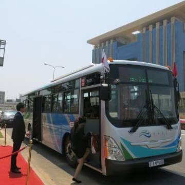 Bình Dương: Khai trương 5 tuyến xe buýt phong cách Nhật Bản