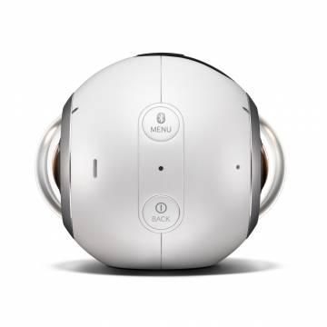 Gear 360 – Camera 360 độ đầu tiên của Samsung đã xuất hiện