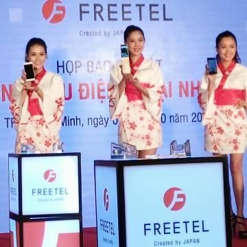 Freetel chính thức xuất hiện tại Việt Nam