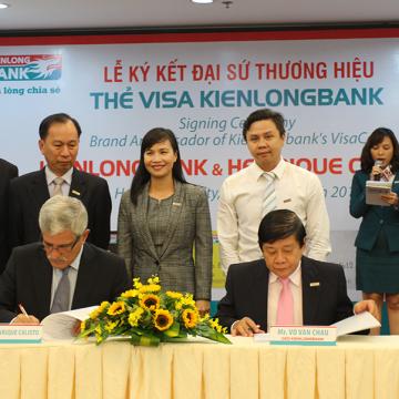 Ngân hàng Kiên Long ra mắt thẻ tín dụng quốc tế  Kienlongbank Visa