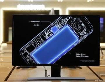 Kích thước pin to bất thường gây ra 'thảm họa Galaxy Note 7'