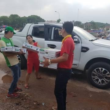 HVVNT Bắc Giang: Nutifood đắt khách