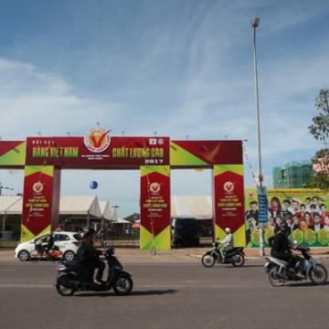 Người tiêu dùng Bình Định bắt đầu đến mua sản phẩm HVNCLC