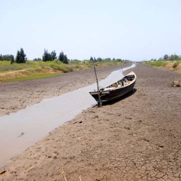 Lập bản đồ hạn mặn cho Đồng bằng sông Cửu Long