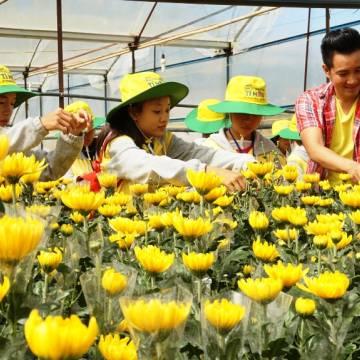 Trẻ nghèo với Đại sứ hàng Việt tí hon
