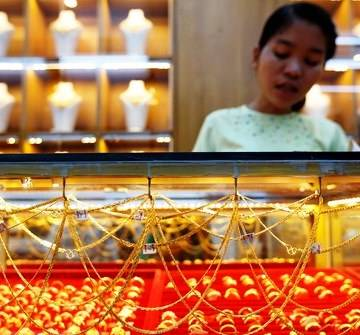 Giá vàng có tuần tăng mạnh nhất kể từ đầu năm