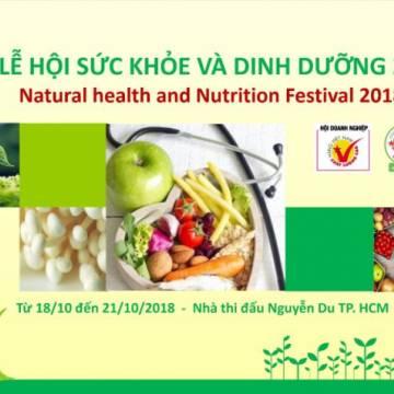 Lần đầu tiên Hội DN HVNCLC tổ chức Lễ hội Sức khỏe và Dinh dưỡng