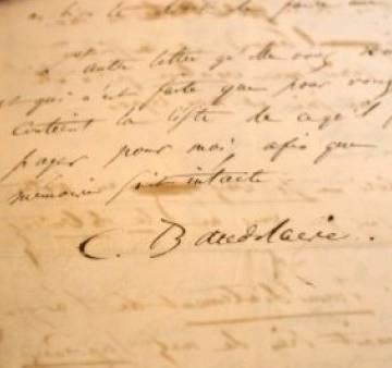 Thư tuyệt mệnh của thi sĩ Baudelaire bán được 234.000 euro