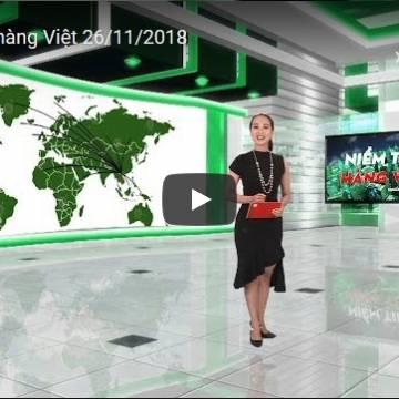 [Video] Niềm tin hàng Việt 26/11/2018