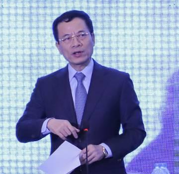 Bộ trưởng Nguyễn Mạnh Hùng: 'Đói khát là một lợi thế'