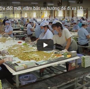 [Video] Dừa Bến Tre đổi mới, nắm bắt xu hướng để đi xa