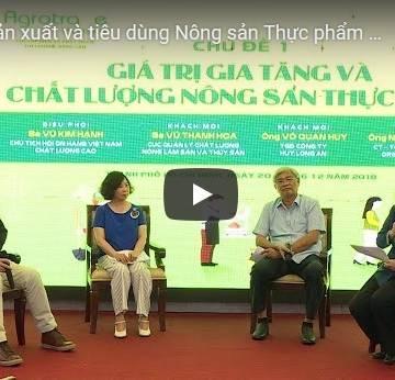 [Video] Kết nối sản xuất và tiêu dùng nông sản – thực phẩm Việt chất lượng cao