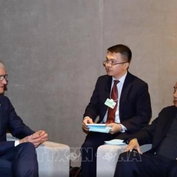 Thủ tướng ủng hộ Apple xây dựng trung tâm dữ liệu tại Việt Nam
