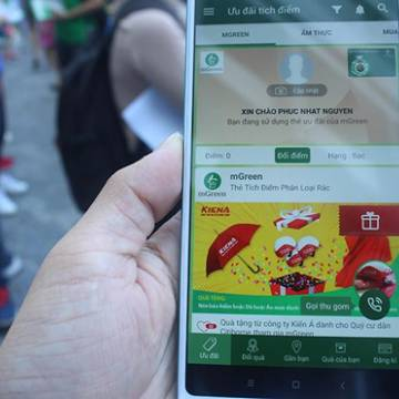Người Sài Gòn có thể phân loại rác tại nhà bằng điện thoại thông minh