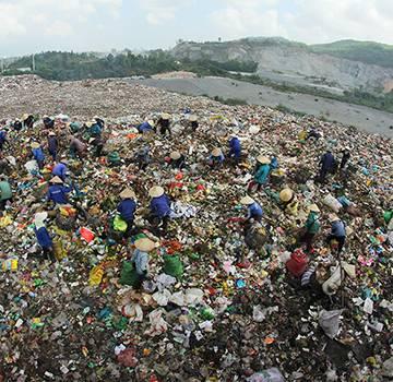 Khủng hoảng chôn lấp rác