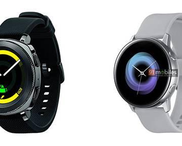 Lộ ảnh đồng hồ thông minh mới của Samsung