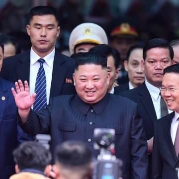 Chủ tịch Triều Tiên đã đến Việt Nam trên đoàn tàu bọc thép
