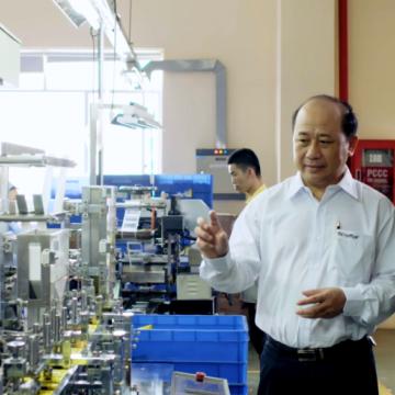CEO Thiên Long – Nguyễn Đình Tâm: Chữ tín + công nghệ = sáng tạo