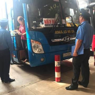 Tổng kiểm tra các đơn vị kinh doanh vận tải ở TP.HCM