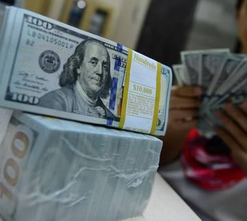 Giá USD chạm mốc 23.450 đồng tại Vietcombank