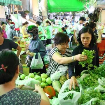 [Photo] Giữa Sài Gòn đi phiên chợ Xanh