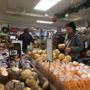 Đi chợ nông trại gia vị ở New York