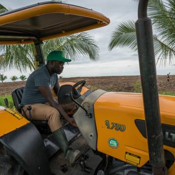 Giới trẻ Ghana quyết 'làm cho nghề nông quyến rũ'