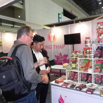 Khô trâu Quang Hiển 'ăn khách' tại ThaiFex 2019