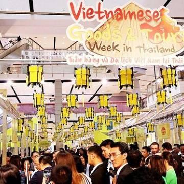 Hàng Việt xuất sang Thái Lan đang tăng
