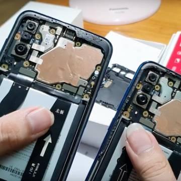 Vsmart Live chung thiết kế với điện thoại Meizu 16XS